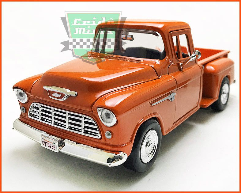 Chevrolet Pick-up 1955 Marta Rocha laranja - escala 1/24