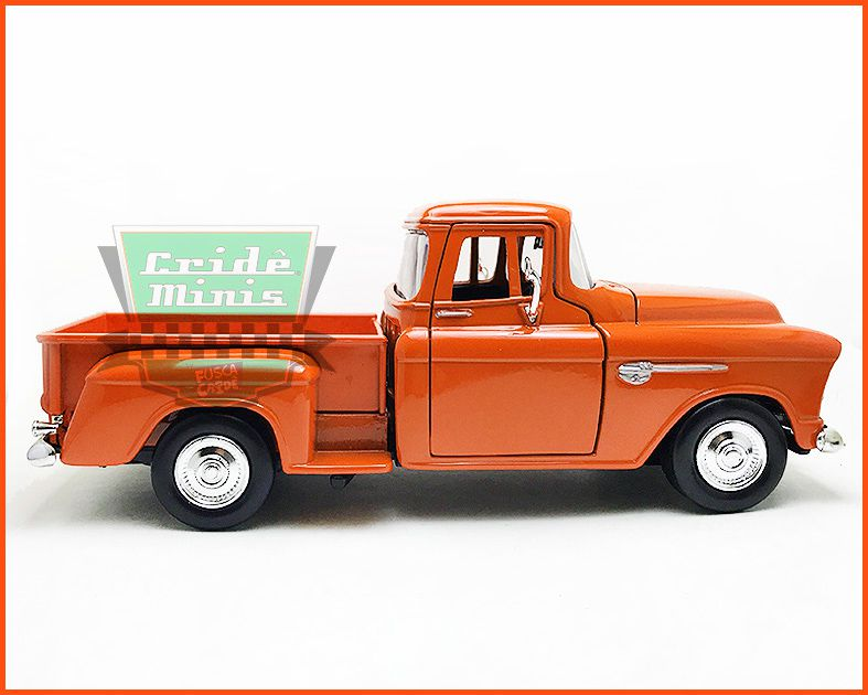 Chevrolet Pick-up 1955 Marta Rocha laranja - escala 1/24
