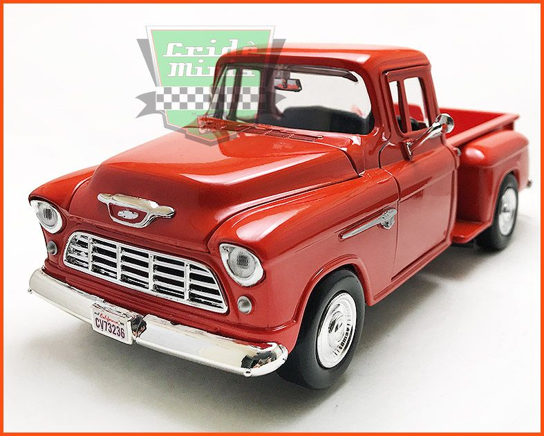 Chevrolet Pick-up 1955 Marta Rocha Red - escala 1/24