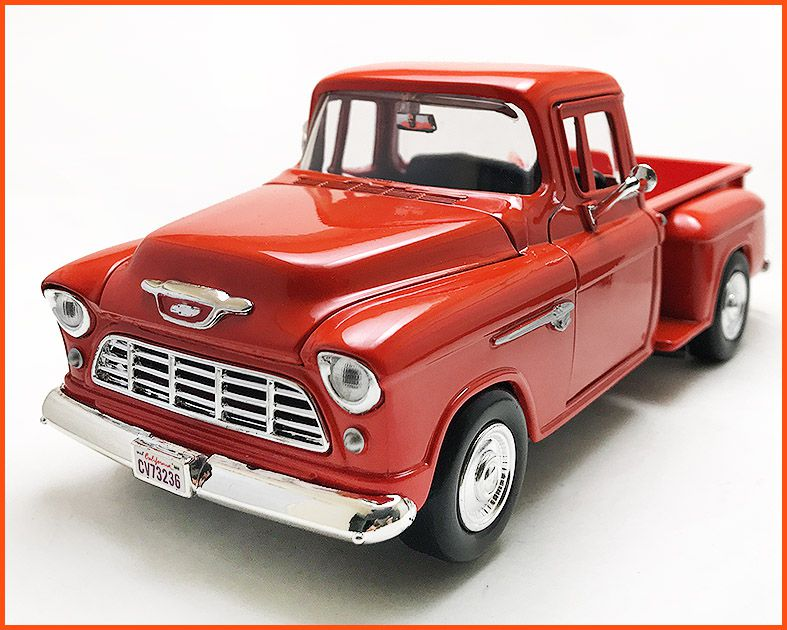 Chevrolet Pick-up 1955 Marta Rocha Red - escala 1/24