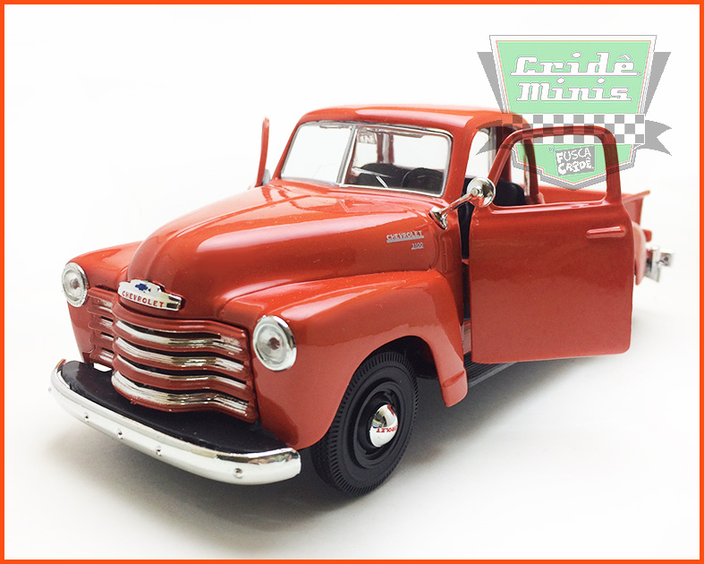 Chevrolet Pick-up 3100 1950 - escala 1/24