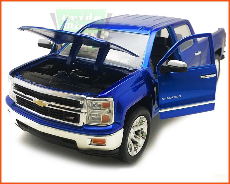Chevrolet Silverado 2014  - escala 1/24