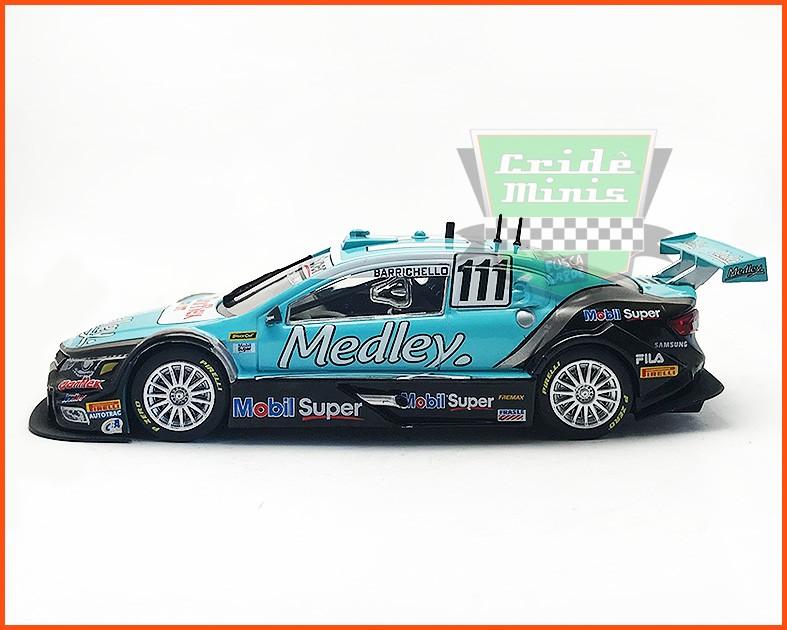 Chevrolet Stock Car #111 2016 - Rubens Barrichello - escala 1/43