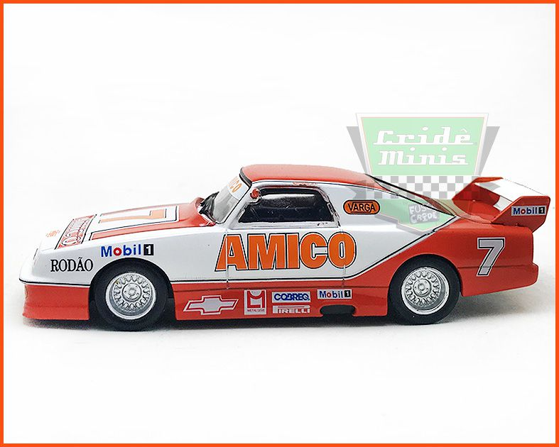 Chevrolet Stock Car #7 1991 - Wilsinho Fittipaldi - escala 1/43