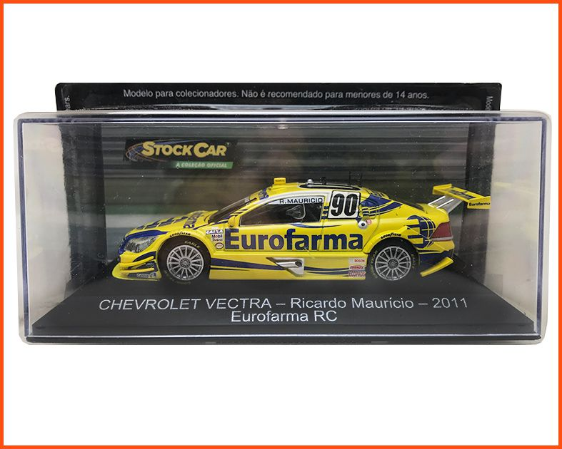 Chevrolet Stock Car #90 2011 - Ricardo Maurício - escala 1/43