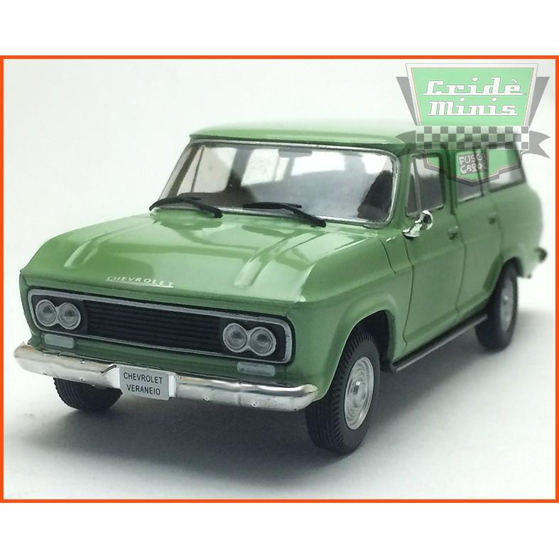 Chevrolet Veraneio 1965 - Carros Nacionais - escala 1/43