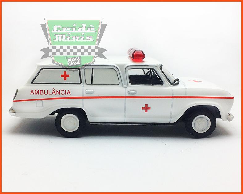 Chevrolet Veraneio Ambulância - Carros Nacionais - escala 1/43