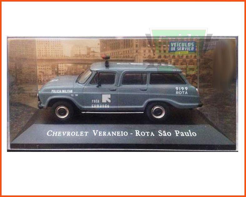 Chevrolet Veraneio ROTA - Carros Nacionais - escala 1/43