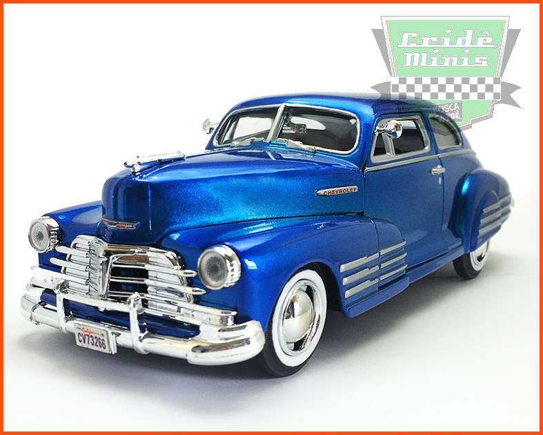Chevy Aerosedan Fleetline 1948 - escala 1/24