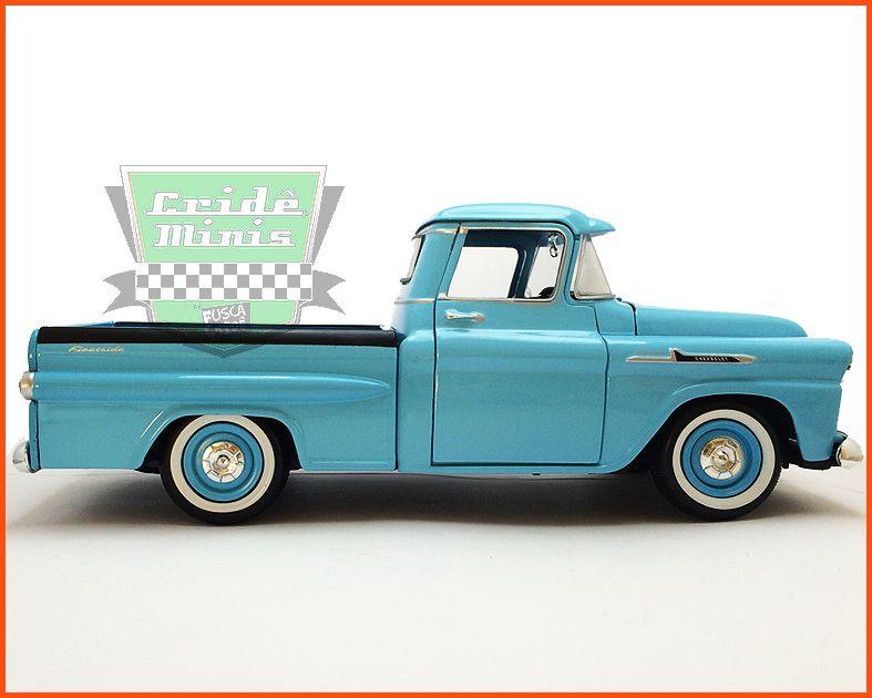 Chevy Apache Fleetside Pick-up 1958 - escala 1/24