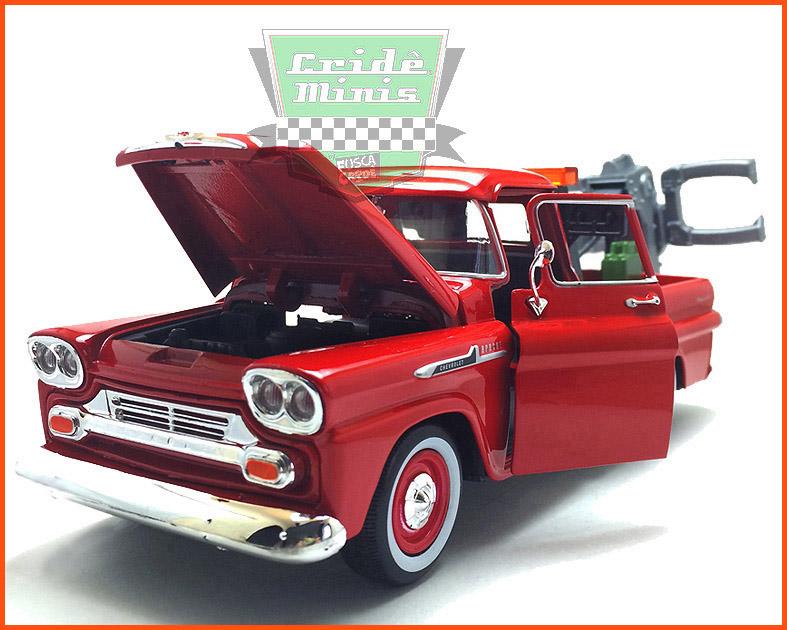 Chevy Apache Guincho 1958 - escala 1/24