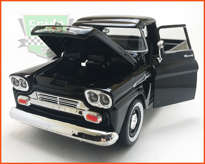 Chevy Apache Pick-up 1958 black - escala 1/24