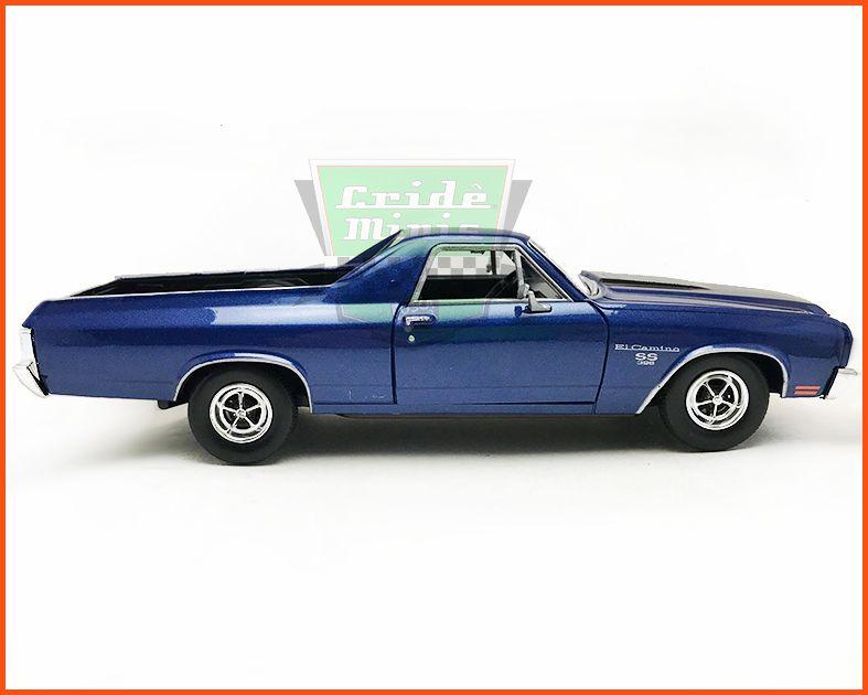 Chevy El Camino 1970 azul - Escala 1/24