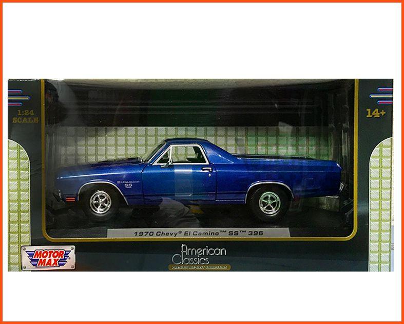 Chevy El Camino 1970 c/ Caixa Expositora - Escala 1/24