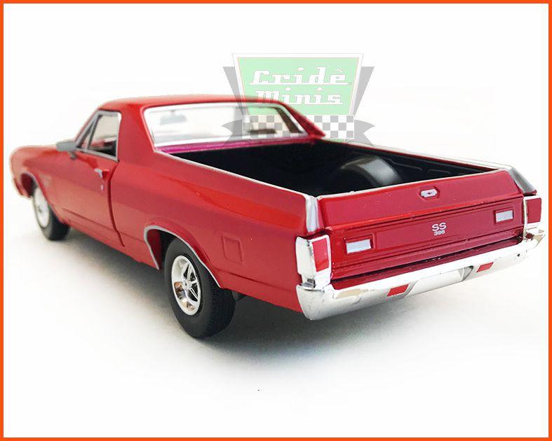 Chevy El Camino 1970 Vermelho - Escala 1/24