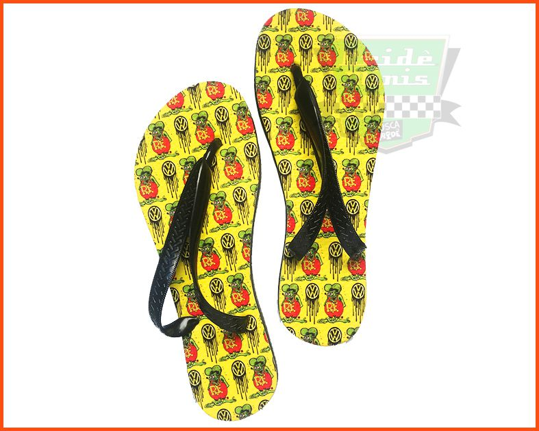 Chinelo de borracha Rat Fink 39/40