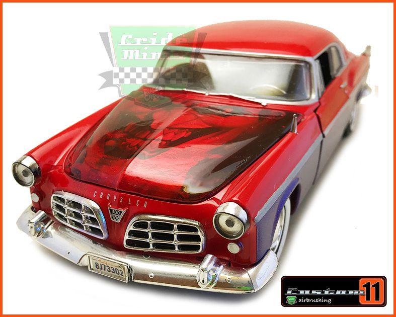 Chrysler C300 1955 Customizado Coringa Peça única - escala 1/24