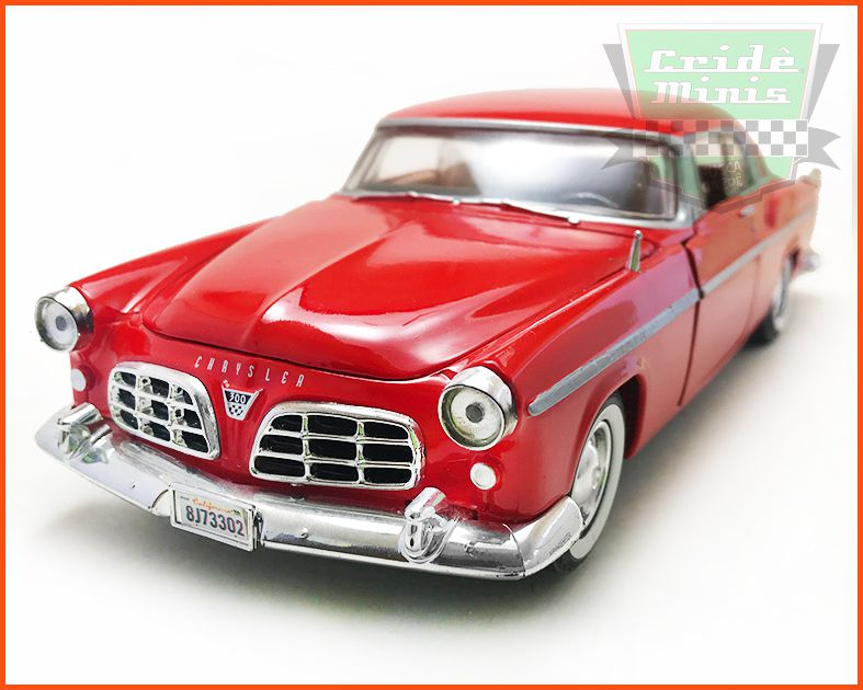 Chrysler C300 1955 red - escala 1/24
