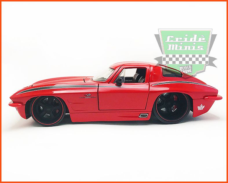 Corvette Sting Ray 1963 Jada Limited Edition 7.500 - 1/24
