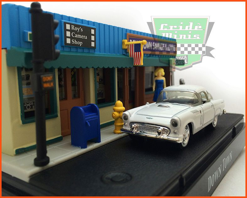 Diorama Motor Max - Downtown escala 1/64