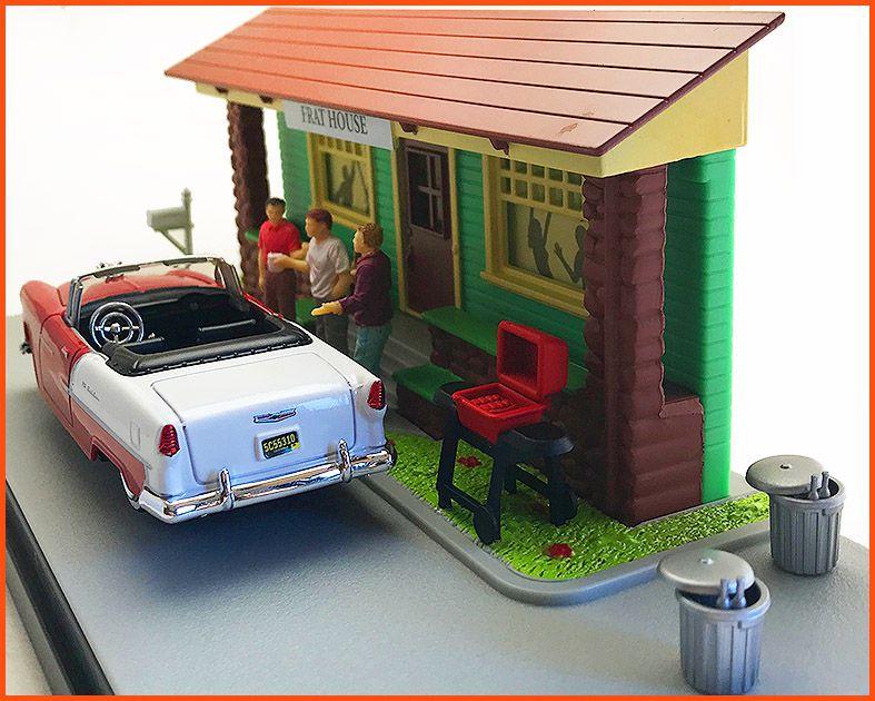 Diorama Motor Max - Frat House escala 1/43