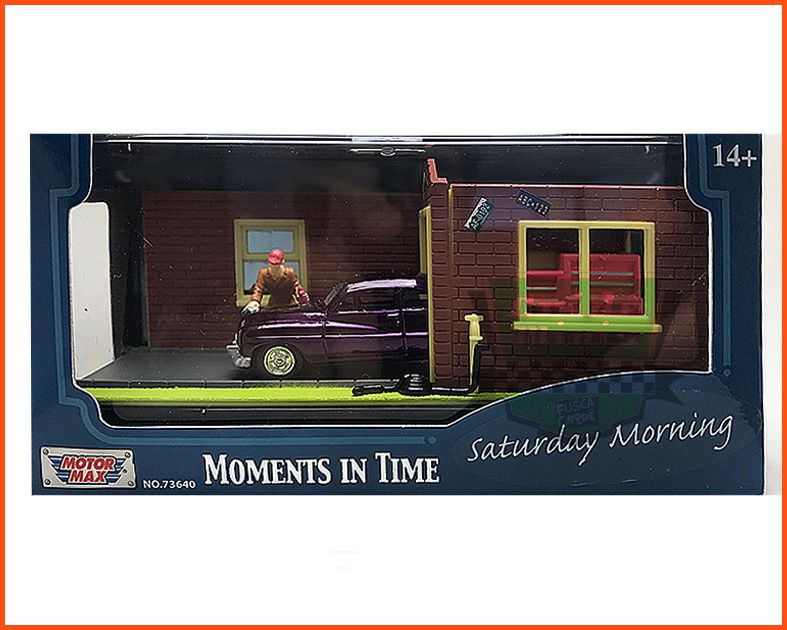 Diorama Motor Max - Saturday Morning escala 1/64