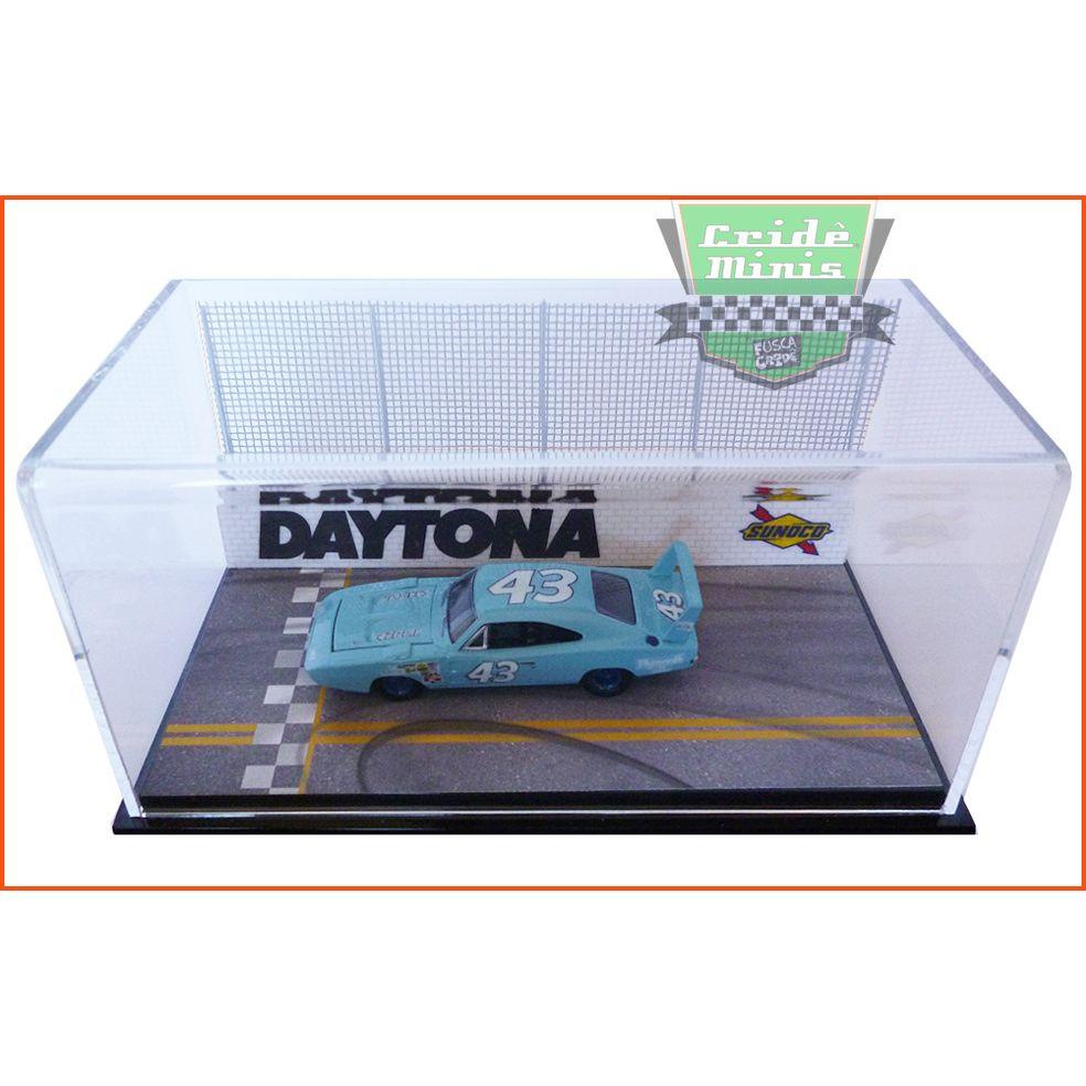 Diorama Pista Daytona (carro não incluído) - escala 1/64