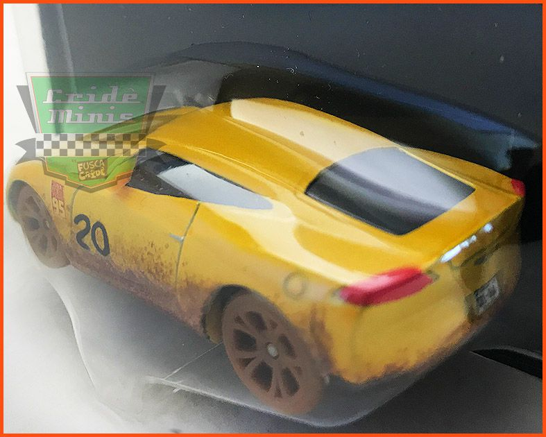 Disney Car 3 Cruz Ramirez As Frances Beltline