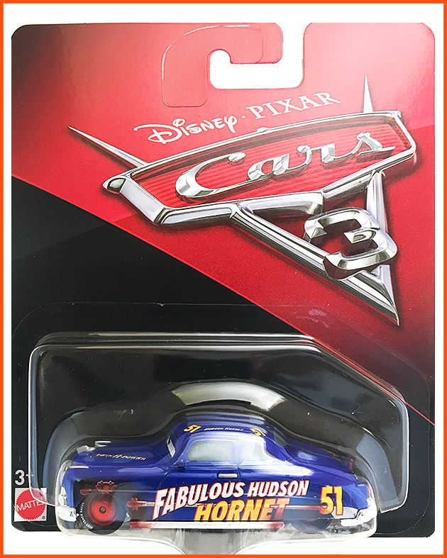 Disney Car 3 Fabulous Hudson Hornet #51