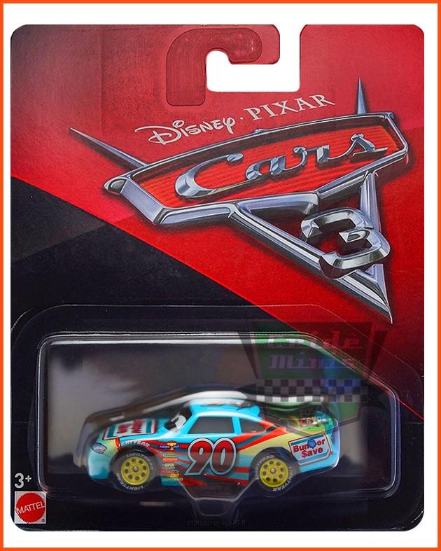 Disney Car 3 Ponchy Wipeout #90