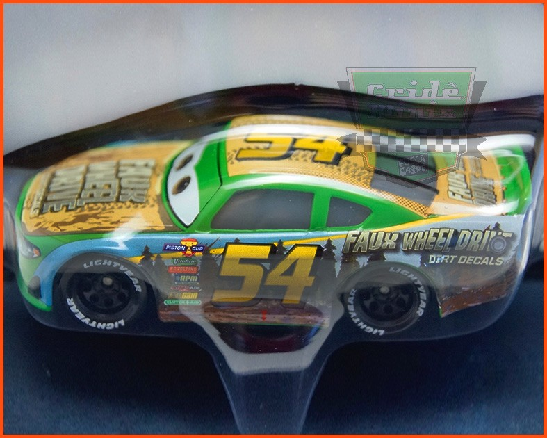 Disney Car 3 Tommy Highbanks #54