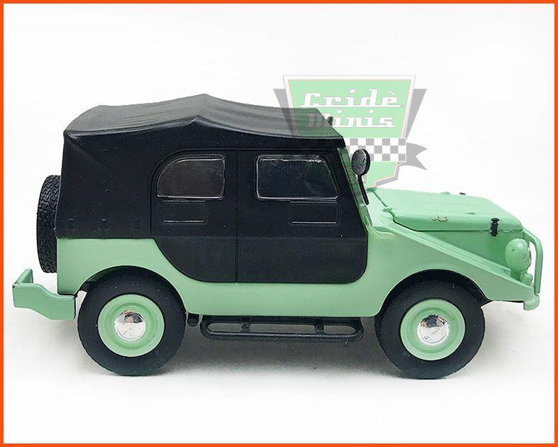 DKW Vemag Candango 1961 - Carros Nacionais escala 1/43