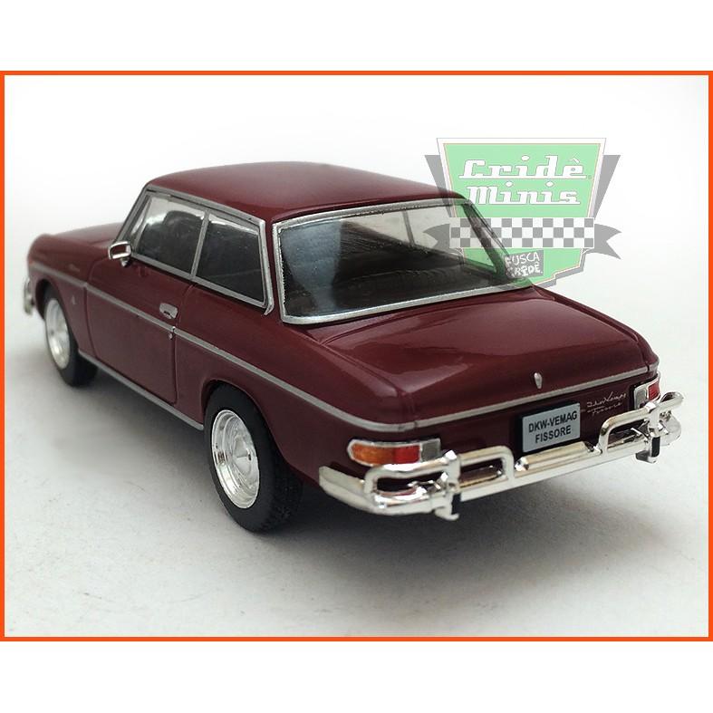 DKW Vemag Fissore 1967 - Carros Nacionais - escala 1/43