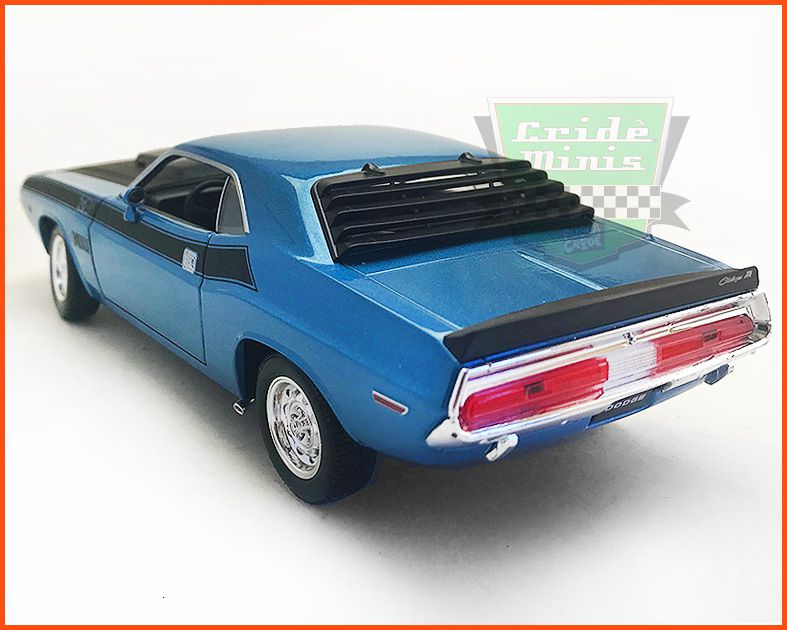 Dodge Challenger 1970 Blue Star - escala 1/24