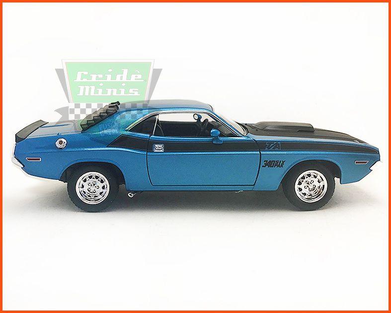 Dodge Challenger 1970 Blue Star - escala 1/24