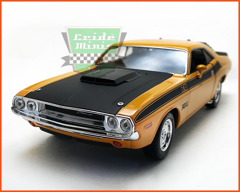Dodge Challenger 1970 Orange - escala 1/24