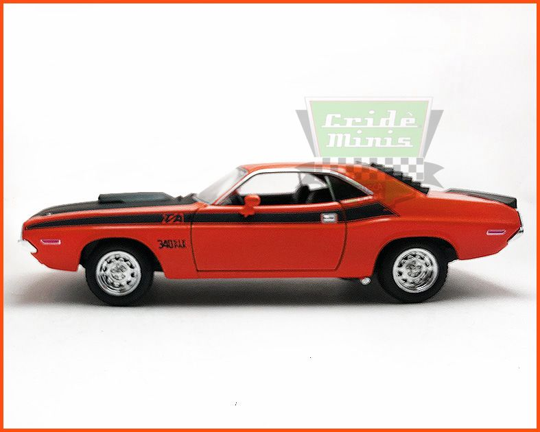 Dodge Challenger 1970 Red - escala 1/24