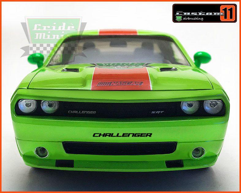 Dodge Challenger SRT8 2008 CUSTOMIZADO - escala 1/24