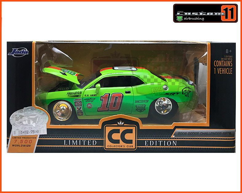 Dodge Challenger SRT8 2008 CUSTOMIZADO - escala 1/24