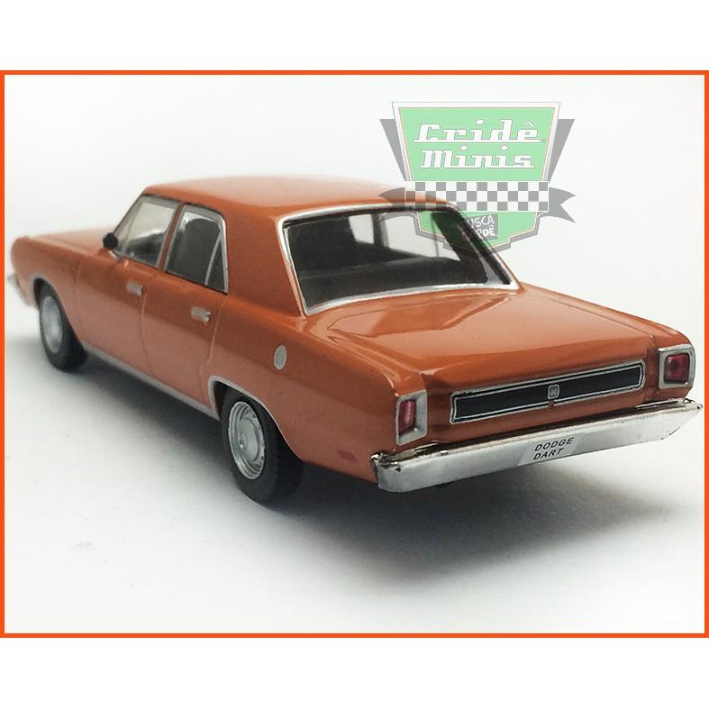 Dodge Dart 1975 4 portas - Carros Nacionais - escala 1/43