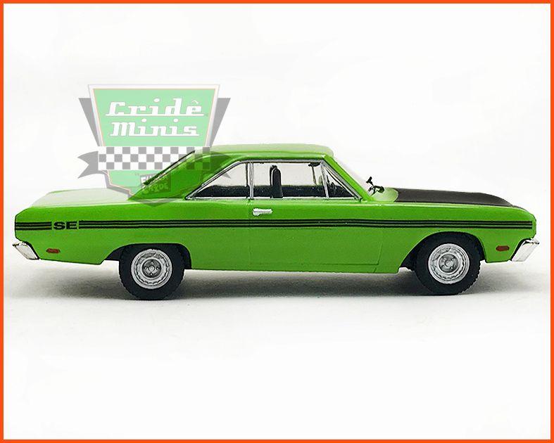 Dodge Dart SE 1972 Verde - Carros Nacionais - escala 1/43
