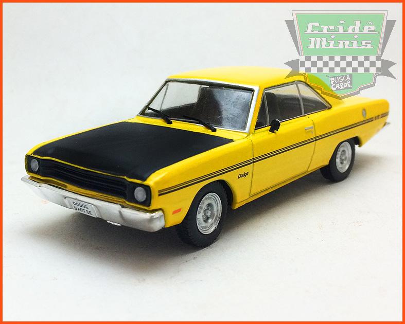Dodge Dart SE 1972 - Carros Nacionais - escala 1/43