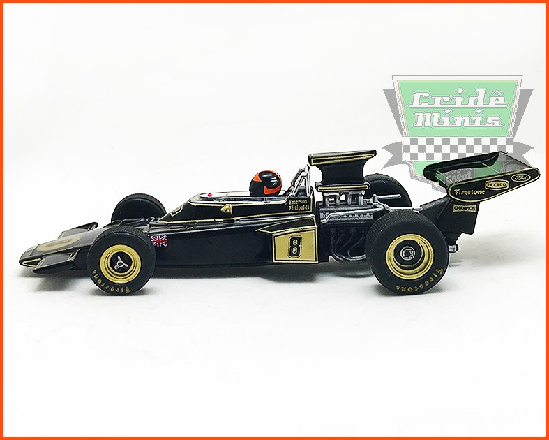 Emerson Fittipaldi - Lotus 72D 1972 - escala 1/43
