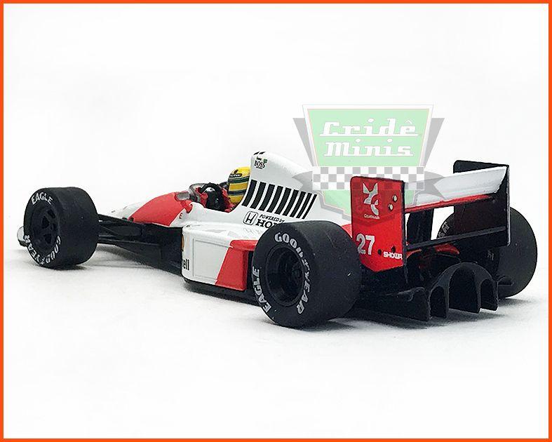 F1 Ayrton Senna - McLaren MP4/5B 1990 - escala 1/43