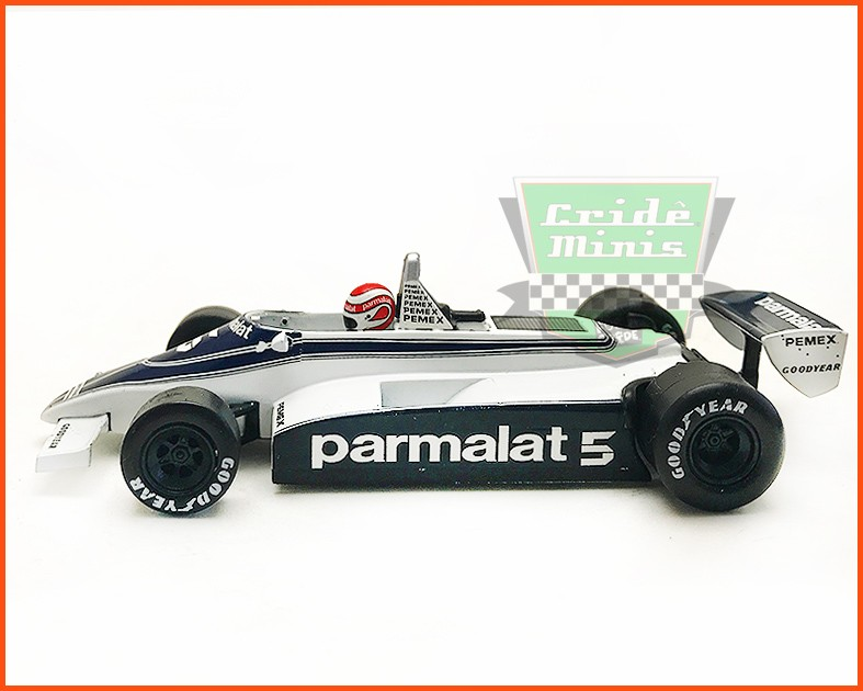 F1 Nelson Piquet - Brabham Ford BT49C 1981 - escala 1/43