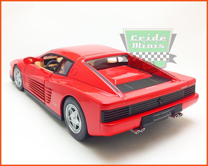 Ferrari Testarossa - escala 1/24