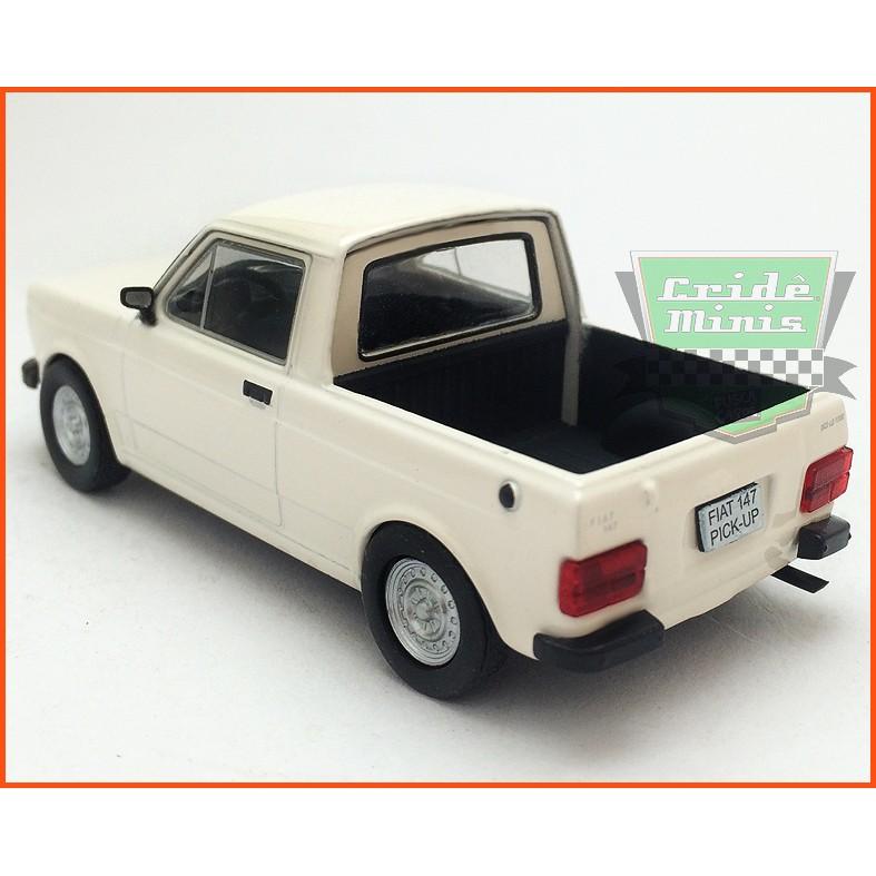 Fiat 147 Pick-up 1979 - Carros Nacionais - escala 1/43