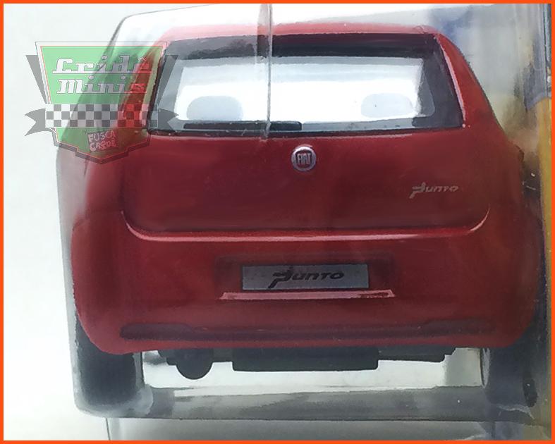 Fiat Punto 4 portas - Carros Nacionais - escala 1/43