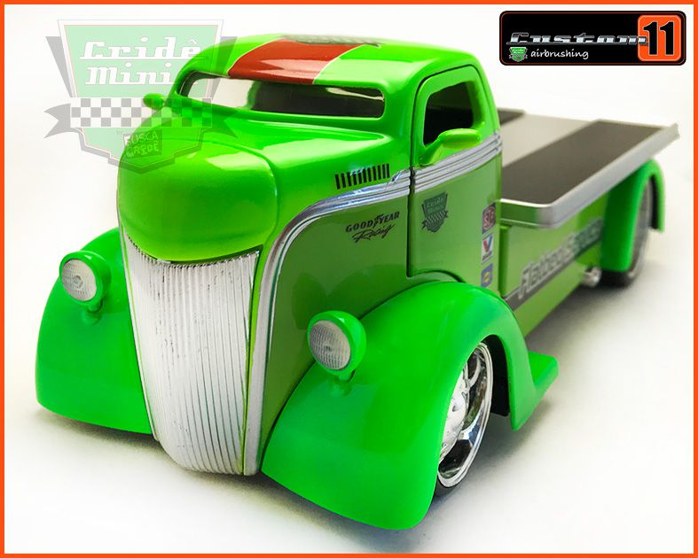 Ford COE Flatbed 1947 Customizado - escala 1/24