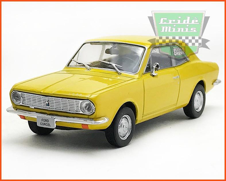 Ford Corcel 1970 - Carros Nacionais - escala 1/43